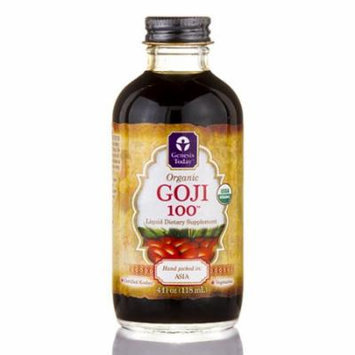 Organic Goji 100� - 4 fl. oz (118 ml) by Genesis Today