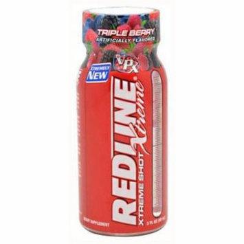 VPX Redline Extreme Shot, Triple Berry, 24 CT