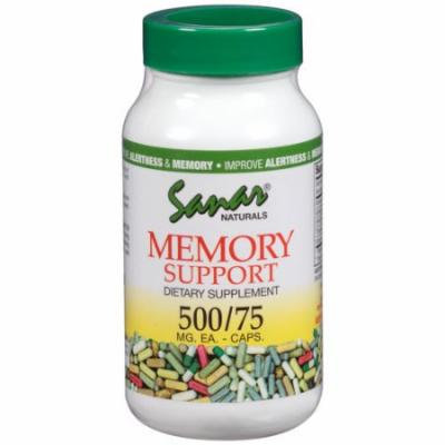 Sanar Naturals Memory Support Dietary Supplement Capsules, 500mg, 75 count