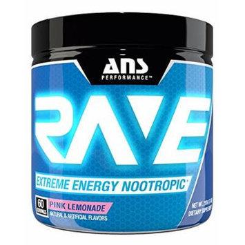 ANS Performance RAVE Extreme Energy Nootropic Pink Lemonade 60/SERV