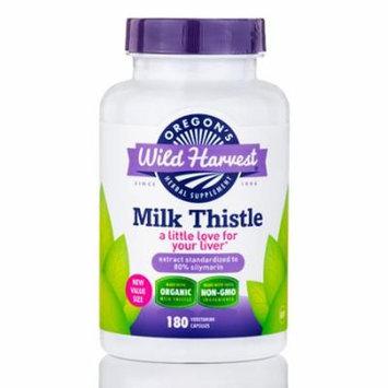 Milk Thistle - 180 Vegetarian Capsules by Oregon's Wild Harvest