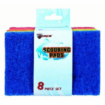 24/Pack Scouring Pads 8Pc