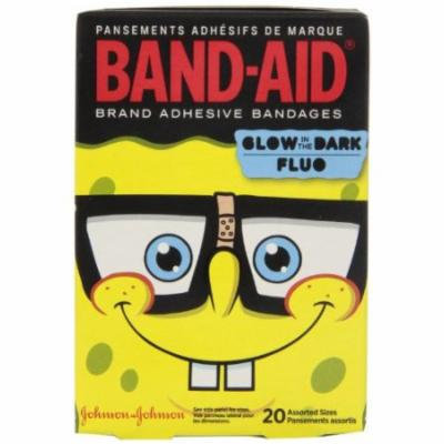 4 Pack Band-Aid Childrens Adhesive Bandages, SpongeBob Assorted Sizes - 20 Each