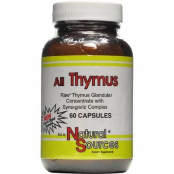 Natural Sources All Thymus, 60 CT