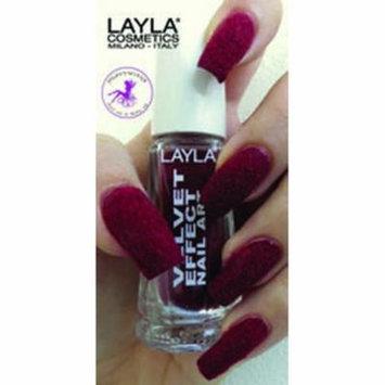 Layla Velvet Effect Nail Art, #10 Passion Mood