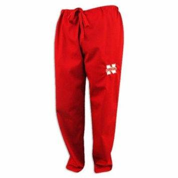 Nebraska Cornhuskers Husker Red Logo Scrubs Pants