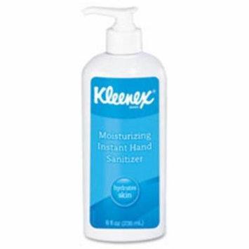 Kimberly-Clark Professional KCC31294CT Kleenex Moisturizing Hand Sanitizer, 12 Per Carton