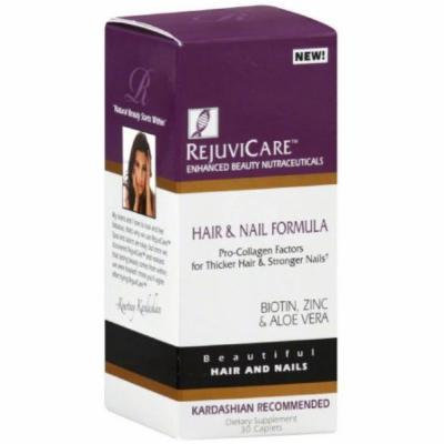 RejuviCare Hair & Nail Formula, Caplets, 30 CT