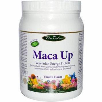 Paradise Herbs Maca Up Vegetarian Energy Protein, 15.94 OZ