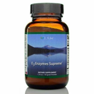E3 Enzyme Supreme Formula-50 gr. Powder Supports Digestion, Cleansing, 3-in-1 Formula, Works throughout Digestive Tract