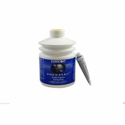 FE 411 Fibreglass Evercoat Poly-Flex Flexible Polyester Glazing Putty 30 oz pump