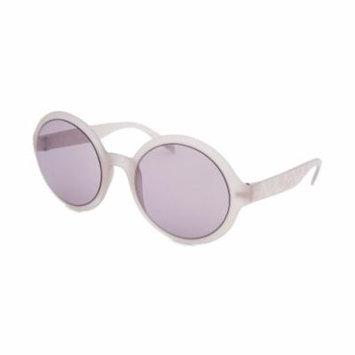 Calvin Klein 3164S-268 Women's Round Translucent Sunglasses