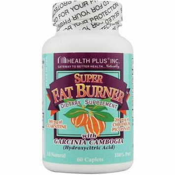 Health Plus Super Fat Burnera with Garcinia Caplets, 60 CT