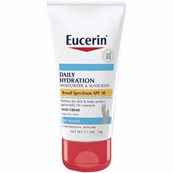 Eucerin Daily Hydration Broad Spectrum SPF 30 Hand Cream, 2.7 Ounce