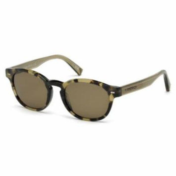 ERMENEGILDO ZEGNA Sunglasses EZ0029 55M Colored Havana 51MM