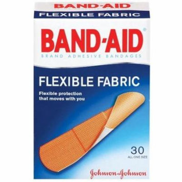 4 Pack - BAND-AID Bandages Flexible Fabric All One Size 30 Each