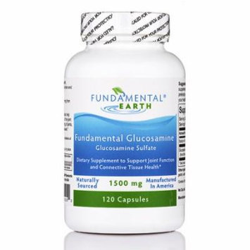 Fundamental Glucosamine - 120 Capsules by Fundamental Earth
