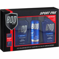 BOD Man Clean & Energizing Sport Pak, 4 pc