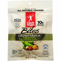Caveman Foods Primal Bites, Habanero & Green Chili, 2.5 oz
