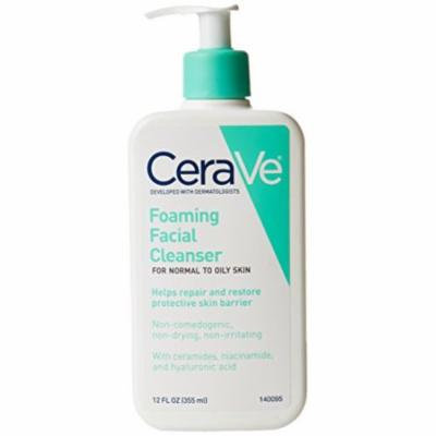 3 Pack - CeraVe Foaming Facial Cleanser, 12 OZ Each