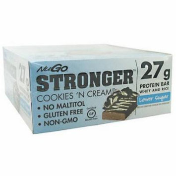 NuGo Nutrition NuGo Stronger, Cookies 'N Cream, 12 CT
