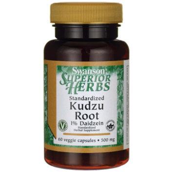 Swanson Standardized Kudzu Root 500 mg 60 Veg Caps