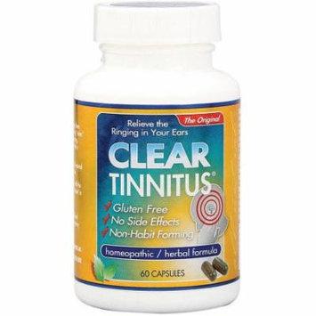 Clear Tinnitus, Vegi-Caps Capsules, 60 CT