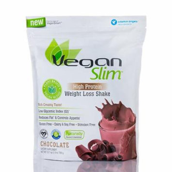 VeganSlim� High Protein Weight Loss Shake, Chocolate - 25.7 oz (728 Grams) by Na