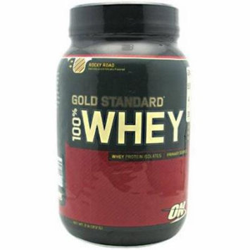 Optimum Nutrition 100% Whey, Rocky Road, 2 LB