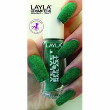 Layla Velvet Effect Nail Art, #6 Green Lawn
