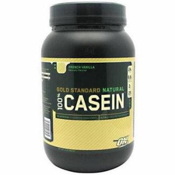Optimum Nutrition 100% Casein, French Vanilla, 2 LB