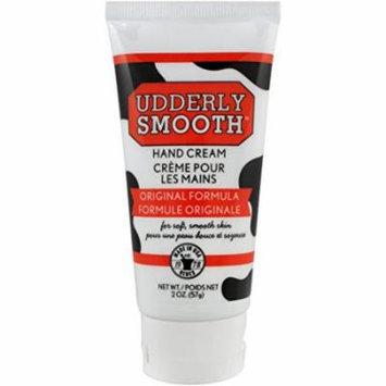 2 Pack Udderly Smooth Hand Cream Original Formula, For Soft Smooth Skin 2oz Each