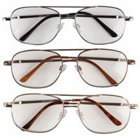 EasyComforts 3 Pack Pilot Readers with Spring Hinge