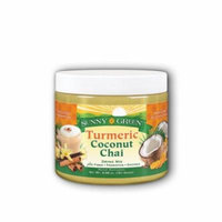 Turmeric Coconut Chai Drink Mix Chai Spice Sunny Green 5.68 oz Powder