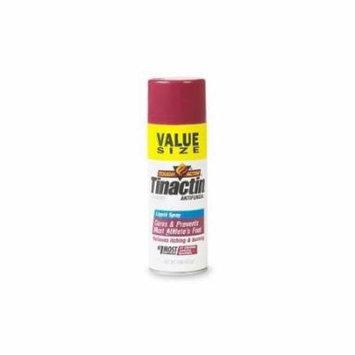 5 Pack Tinactin Antifungal Deodorant Powder Spray for Athlete's Foot 4.6oz Each