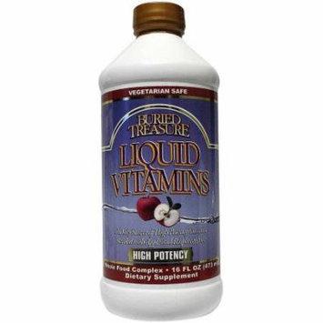 Buried Treasure Vitamins Liquid, 16 FL OZ