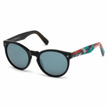 DSQUARED2 Sunglasses DQ0172 01C Shiny Black 53MM