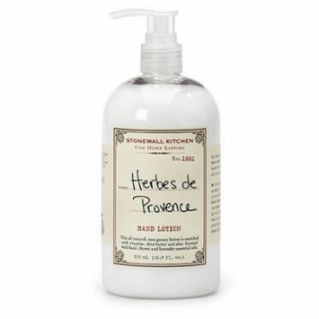 Stonewall Kitchen Herbes de Provence Hand Lotion, 16.9 oz