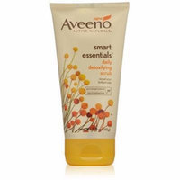 5 Pack AVEENO Active Naturals Smart Essentials Daily Detoxifying Scrub 5oz Each