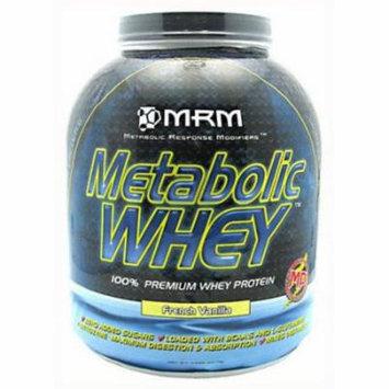 MRM Metabolic Whey, French Vanilla, 5 LB