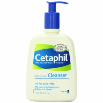 2 Pack Cetaphil Gentle Skin Cleanser FOR ALL SKIN TYPES 16oz