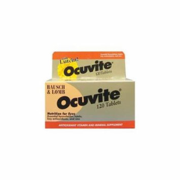 5 Pack Bausch & Lomb Ocuvite Eye Vitamin & Mineral Supplement with Lutein 120 Ea