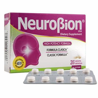 Neurobion Classic 20 Tablets Vitamin B Energy Booster - Formula Clasica