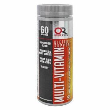 Optimal Results - Multi-Vitamin Elite - 120 Tablets