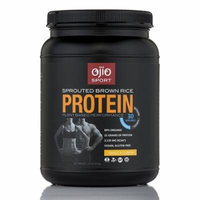 Ojio Sport Sprouted Brown Rice Protein Vanilla Flavor - 30 Servings (630 Grams)