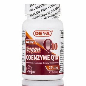 Vegan Coenzyme Q10 25 mg - 90 Tablets by DEVA Nutrition
