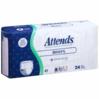 ATTENDS Incontinent Brief Tab Closure Regular Disposable Heavy Absorbency (#BR25, Sold Per Pack)