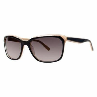 VERA WANG Sunglasses V427 Black 56MM