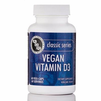 Vegan Vitamin D3 - 60 Servings (60 Vegi-Caps) by Advanced Orthomolecular Researc