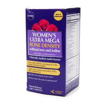 GNC Women's Ultra Mega Bone Density without Iron and Iodine Multivitamin
